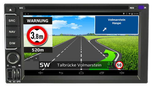 IntelliRoute CA9100DAB mit Lifetime Update